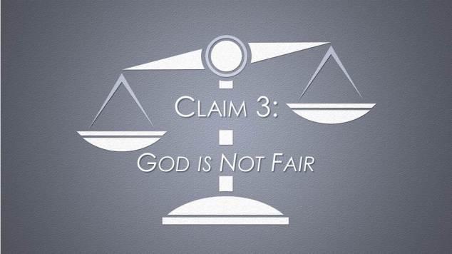 blog - God is Not Fair