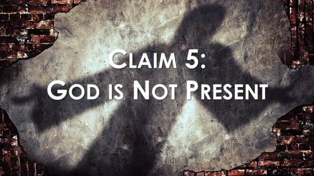 blog - God is Not Present