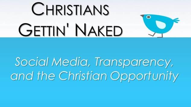 blog - Social Media & Transparency